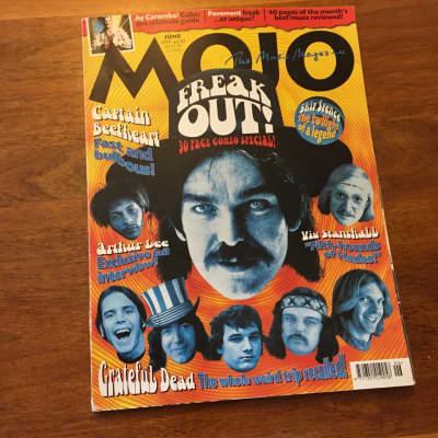 Mojo Magazine Issue 67 - Captain Beefheart, Grateful Dead, Skip Spence, Love - June 1999