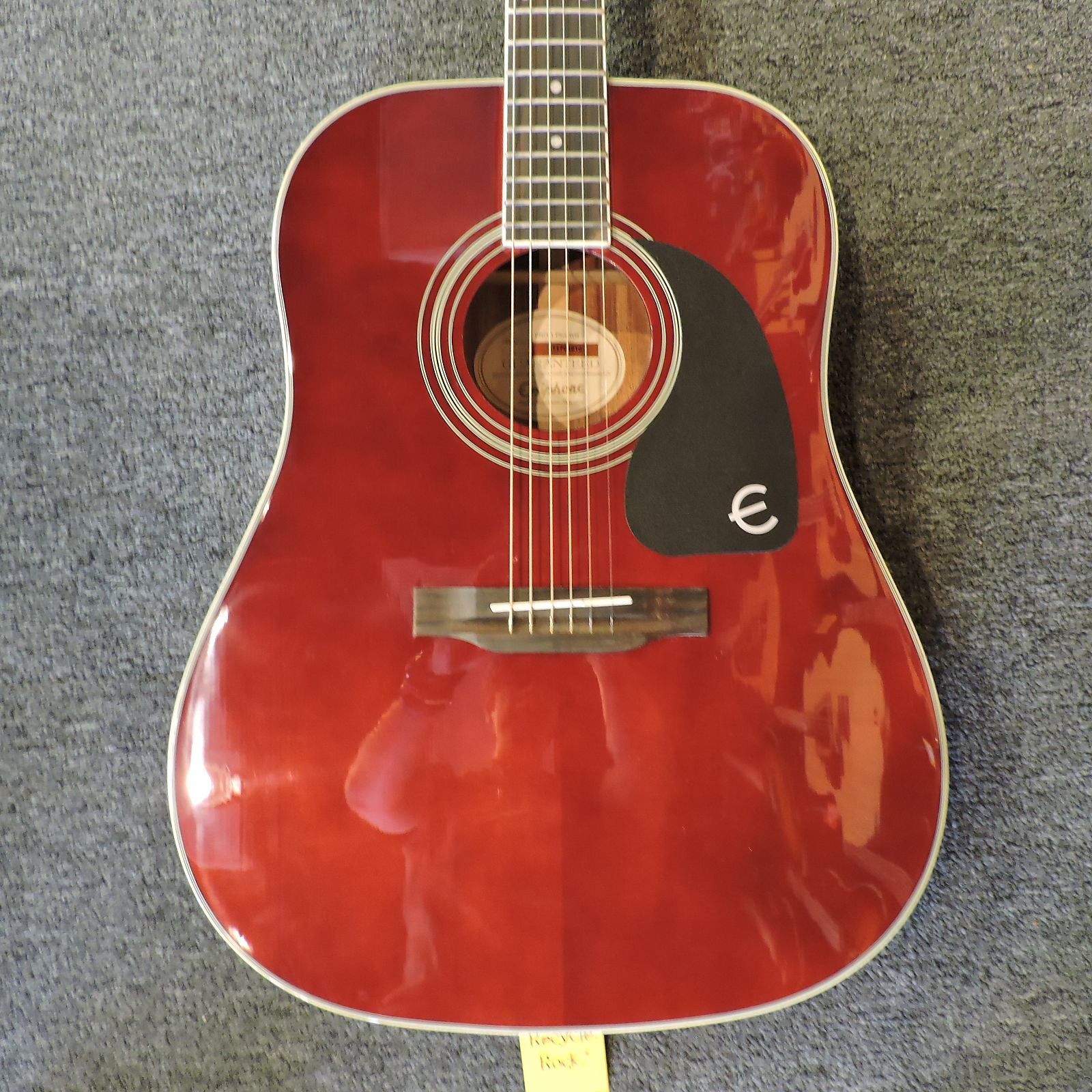 Epiphone Pro 1 Plus Dreadnought Wine Red Reverb