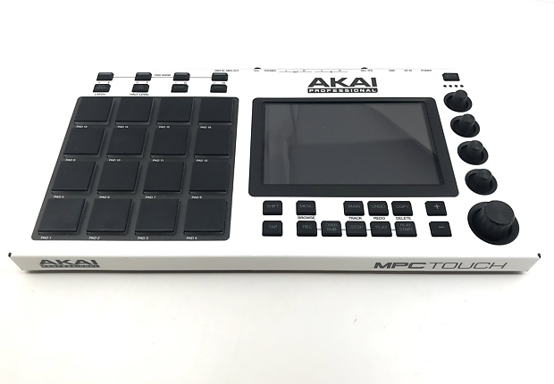 Akai MPC Touch - Good Condition - Used - White Out Custom