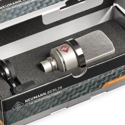 Open Box Neumann TLM 102 Nickel Large Diaphragm Cardioid Condenser Microphone