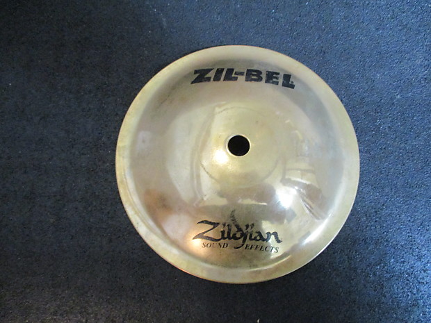 Zildjian 6 Inch Zil Bell Sound Effects Bell Chime, Rings Forever --  Excellent!