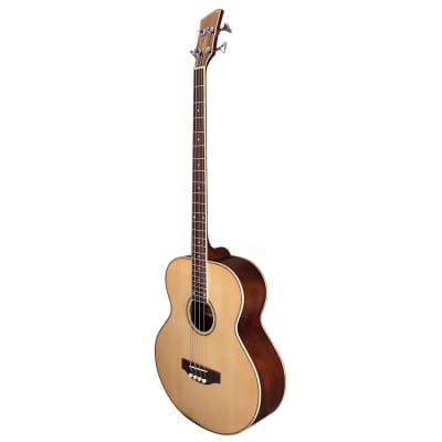 Brunswick TBJBA Electro Acoustic Bass - Natural for sale