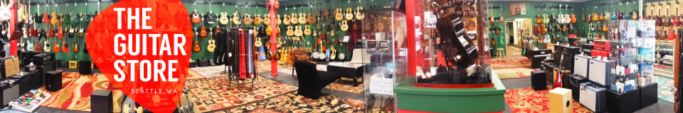 The Guitar Store at Quimper Sound Records
