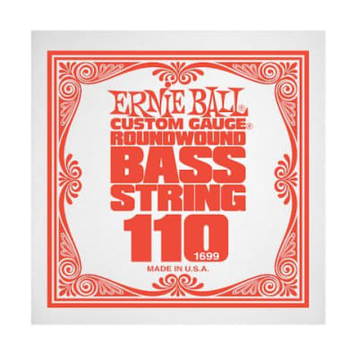 Ernie Ball 1699 110 Roundwound Bass Single String