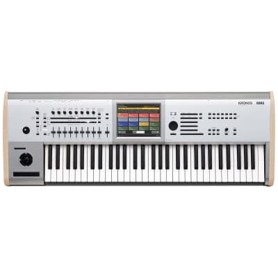 Korg KRONOS 2 Titanium 61-Key Digital Synthesizer Workstation