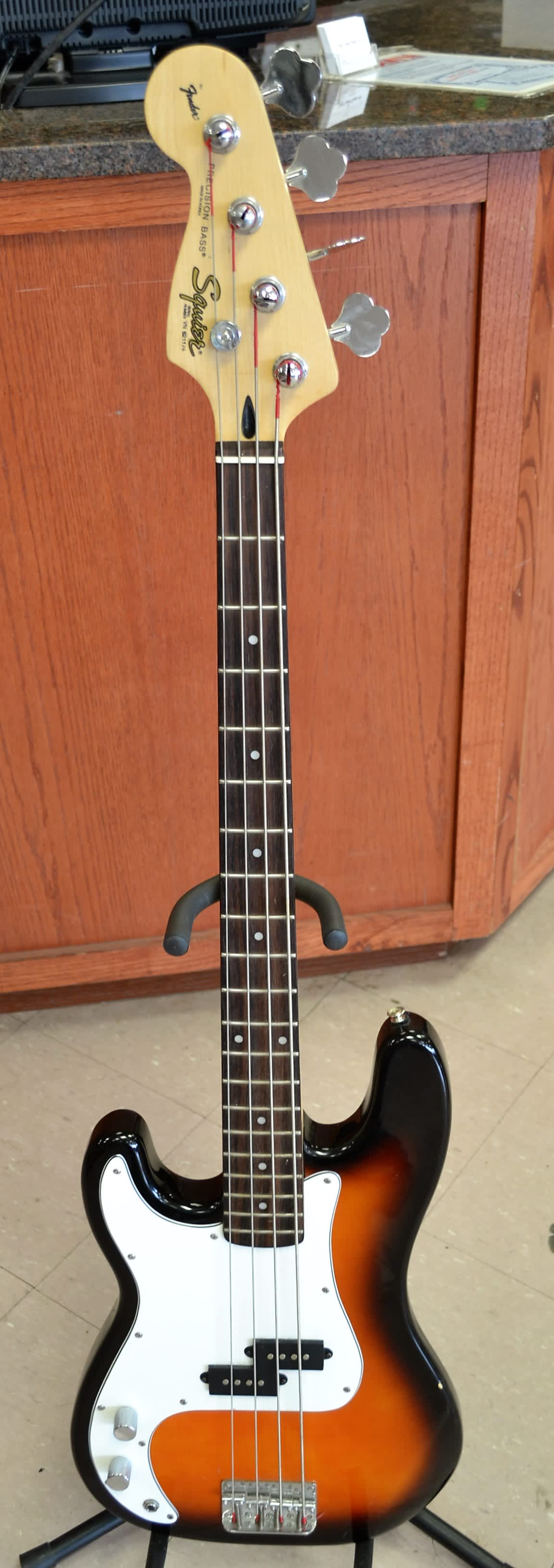 squier by fender p bass precision bass 4 string bass guitar reverb. Black Bedroom Furniture Sets. Home Design Ideas