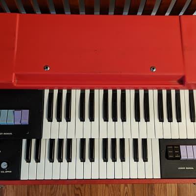 Vintage Elka Panther Duo Combo Organ Unicord Transistor Keyboard
