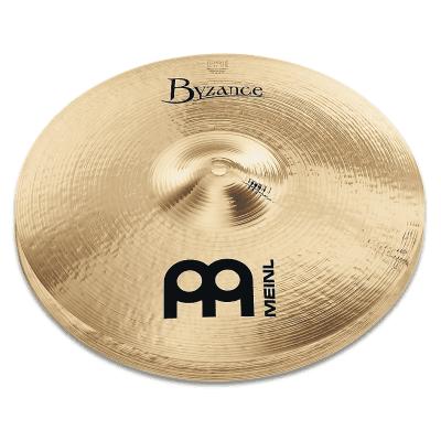 "Meinl 14"" Byzance Brilliant Medium Hi-Hat Cymbals (Pair)"