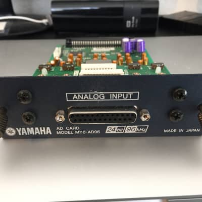 Yamaha MY8-AD96 8 Channel Analog Input Card