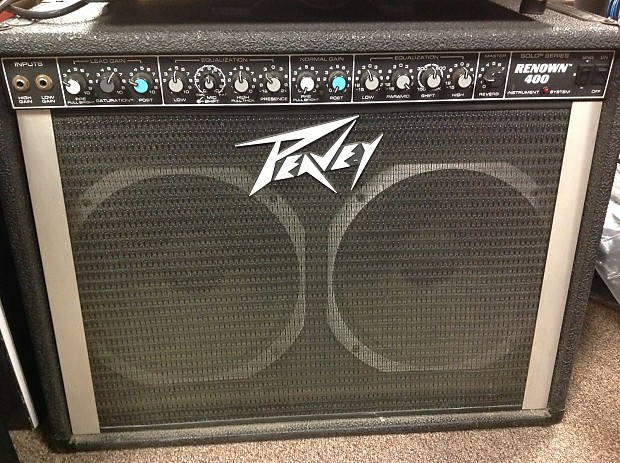 peavey renown 400 2x12 combo reverb. Black Bedroom Furniture Sets. Home Design Ideas