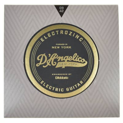 D'Angelico Rock 9's Electrozinc Electric Guitar Strings