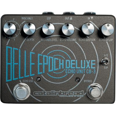 [FREE Intl Shipping] Catalinbread Belle Epoch Deluxe CB3 Dual Tape Echo Emulation Delay Warm Reverb