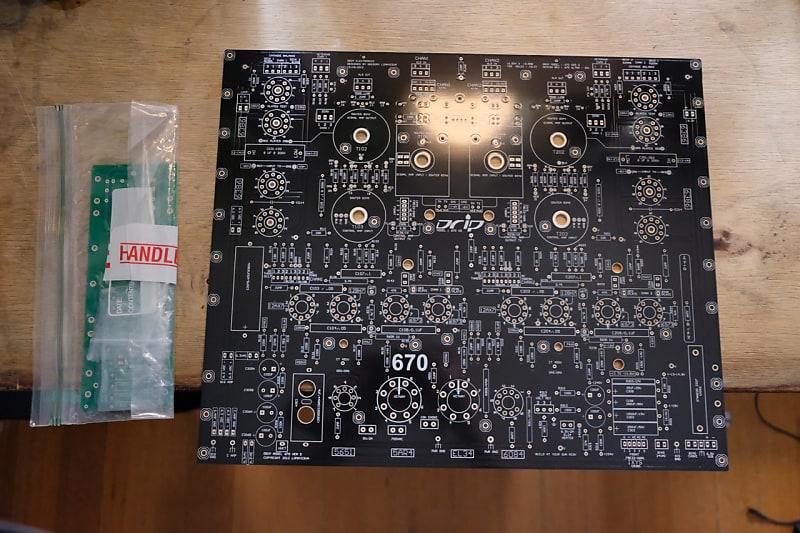 Drip Electronics Fairchild 670 V2 Diy Pcb Reverb