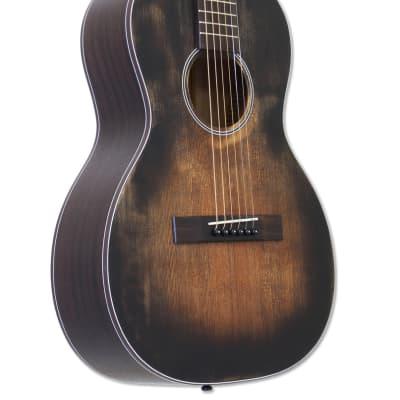 Aria ARIA-131DP Parlor Guitar Muddy Brown for sale