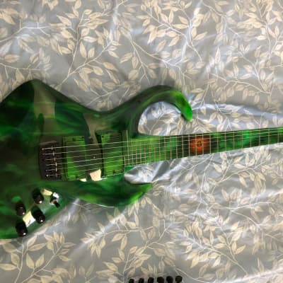 Basslab Guitar IV 2007 Grün for sale