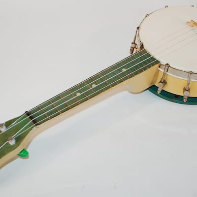 Rare 1930's Slingerland Maybell Resonator Banjo Ukulele • Rare Factory Finish for sale