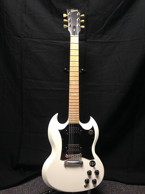 Gibson SG Raw Power 2009 Satin White | Mikes Gear Garage