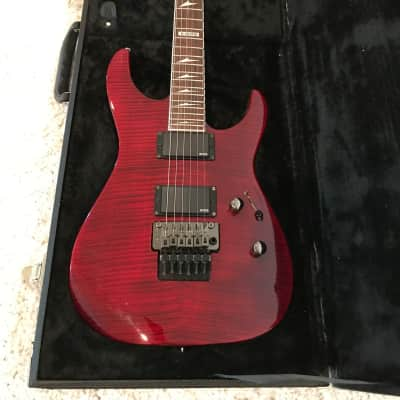 ESP LTD M-300 FM Electric Guitar with hardcase for sale