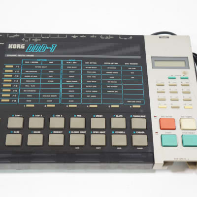KORG DDD-1 Dynamic Digital Drum Machine Vintage Worldwide Shipment