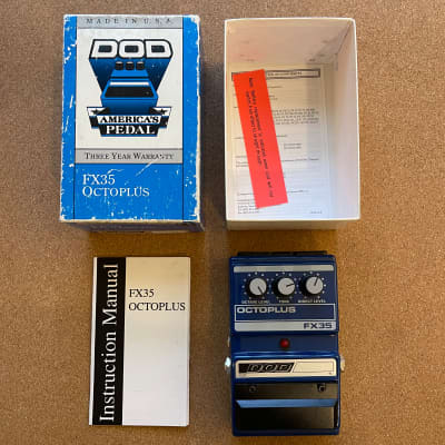 DOD Octoplus FX35 Octave (Made in USA)