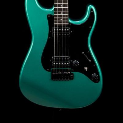 Fender Boxer Series Stratocaster HH - Sherwood Green Metallic #00890