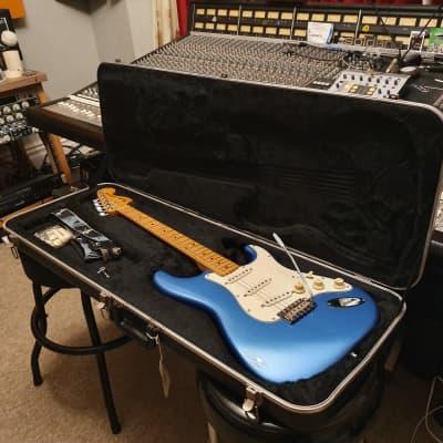 RARE 1979 Fender American 25th Anniversary Stratocaster Custom Lake Placid Blue USA Standard Strat for sale