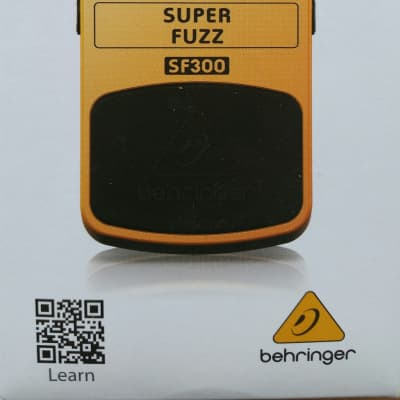 Behringer SF300 Super Fuzz Pedal for sale