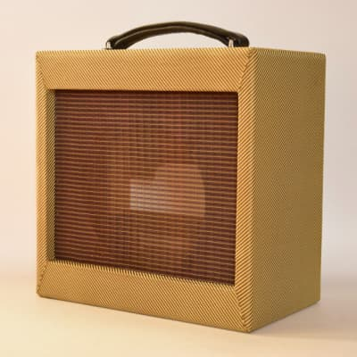 Empty Tweed Cabinet for Champ or Princeton  project 5f1 5f2a cab fender style for sale
