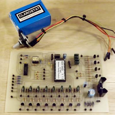Midwest Analog Products ADV-MIDI 8 channel MIDI trigger module