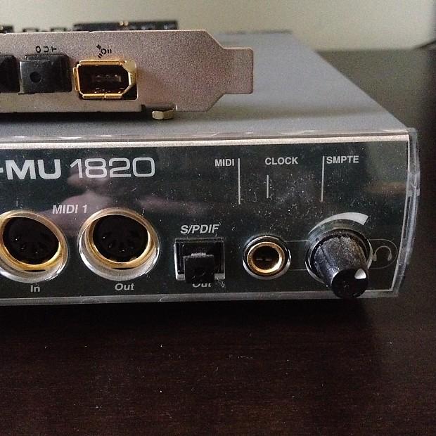 Driver UPDATE: E-MU 1820 Digital Audio System