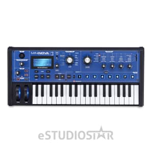 Novation MiniNova Analogue-Modeling Synthesizer