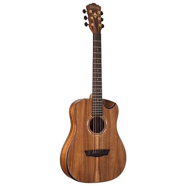 washburn wcgm55k comfort series acoustic electric guitar reverb. Black Bedroom Furniture Sets. Home Design Ideas
