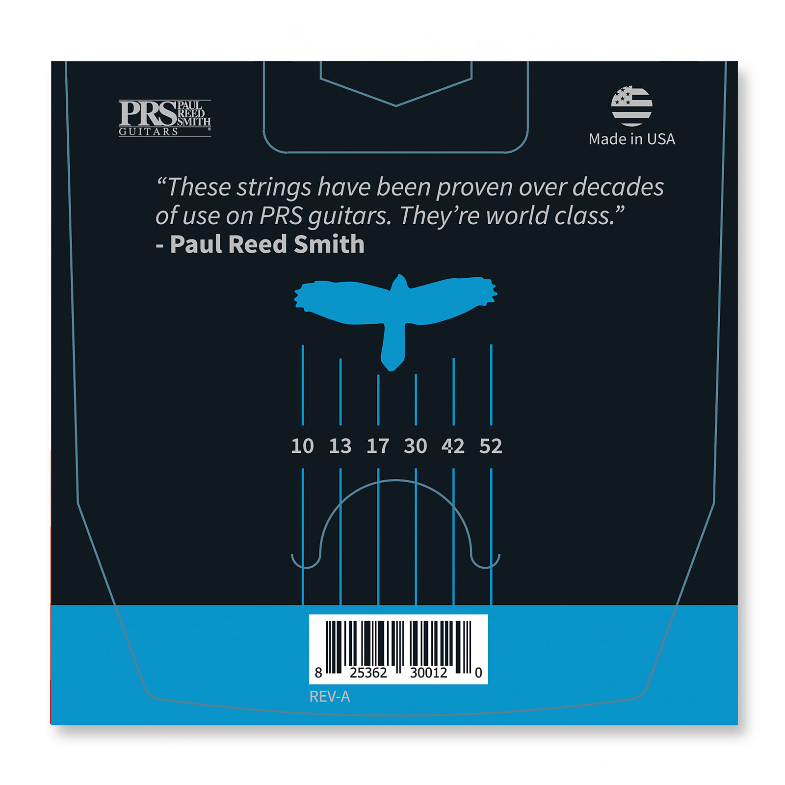 Paul Reed Smith PRS Classic Light Top/Heavy Bottom Guitar Strings 10-52