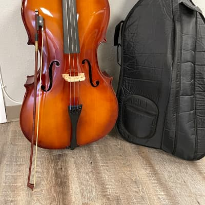 Full size cello with bow and case - Carlo Robelli CR-352 for sale