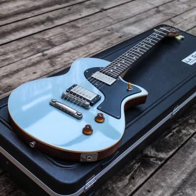 La Grange Guitars - Personal Grand Wheel - Sonic Blue 2016 for sale