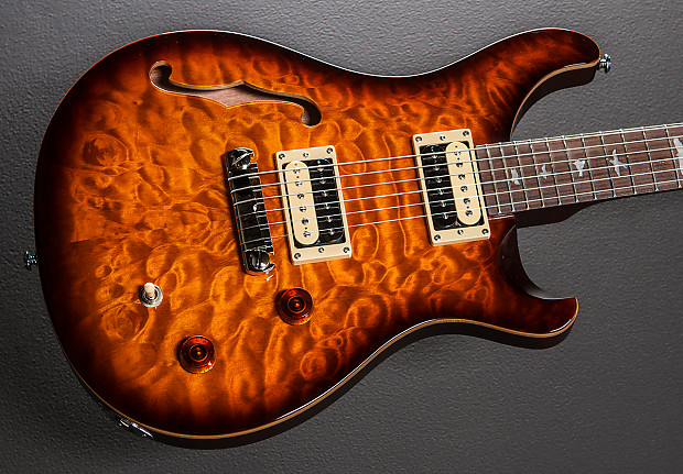 paul reed smith se custom 22 semi hollow 2015 tobacco reverb. Black Bedroom Furniture Sets. Home Design Ideas