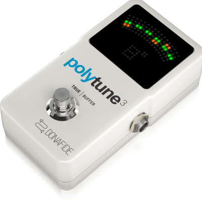 TC Electronic Polytune 3 Tuner Pedal (built-in buffer) for sale