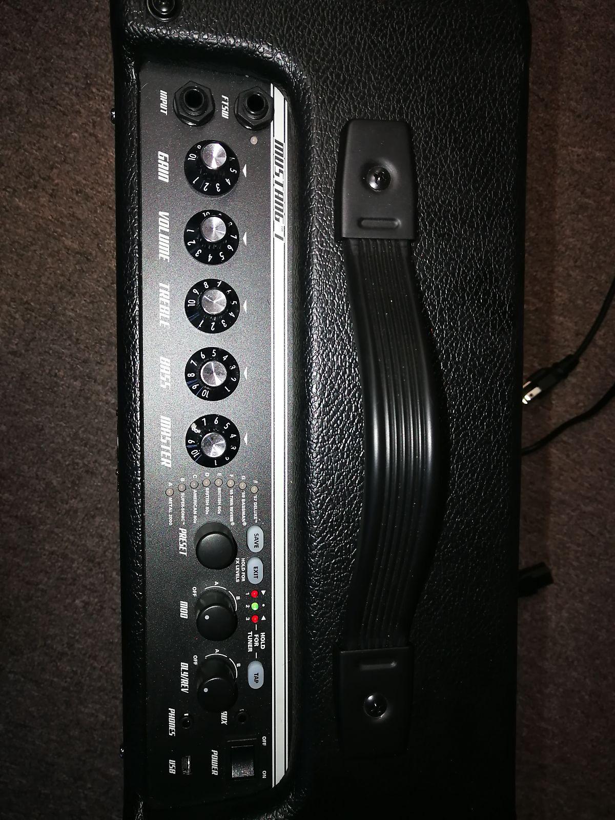 Used Fender Mustang 1 guitar amp (Kingston)
