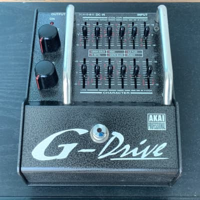International Free Shipping! Akai G-Drive Analog Graphic EQ Overdrive for sale