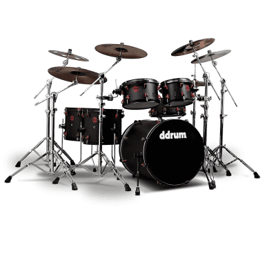 """ddrum Hybrid 6 Player 10/12/14/16/20/6x13"""" Drum Kit with Triggers"""
