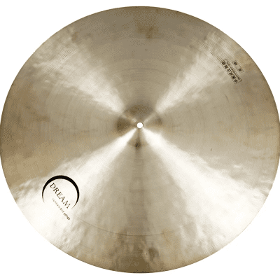 """Dream Cymbals 24"""" Contact Series Small Bell Flat Ride Cymbal"""