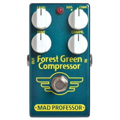 Mad Professor PCB Forest Green Compressor Guitar Effects Pedal for sale