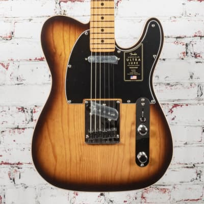 Fender Ultra Luxe Telecaster® Electric Guitar, Maple Fingerboard, 2-Color Sunburst x2483