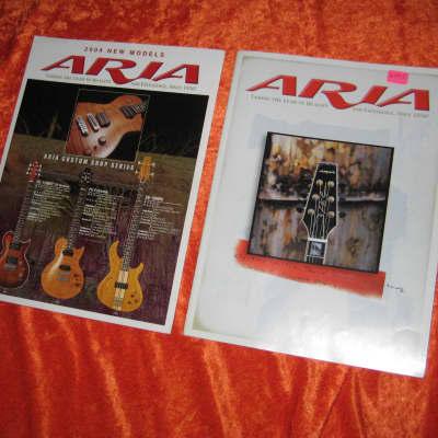 Aria Guitar Catalog  from 2003