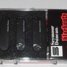Seymour Duncan AS-1 Blackouts Set for Strat (Black) - AS-1s Black