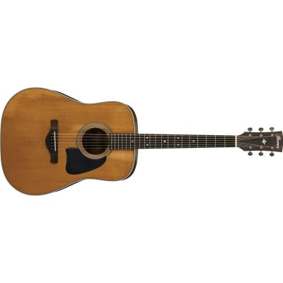 Ibanez AVD11 Artwood Vintage Dreadnought Acoustic, Antique Natural Semi-Gloss for sale