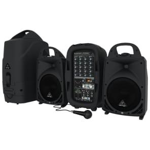Behringer Europort PPA500BT 500-Watt 6-Channel PA System