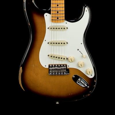 Fender Custom Shop 1956 Stratocaster Relic - Aged 2-Color Sunburst #48185