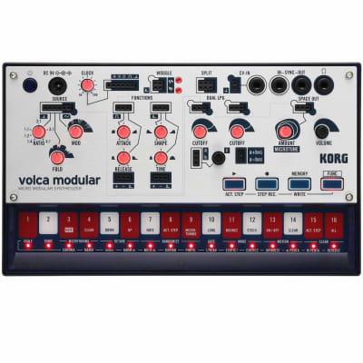 KORGVolca Modular Semi-Modular Analog Synthesizer with 16-Step Sequencer