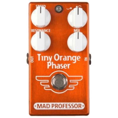 Mad Professor Tiny Orange Phaser Factory Made Effectpedal for sale